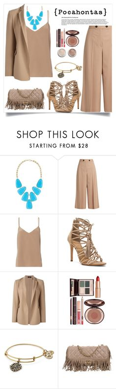 """Disney princess go to work- Pocahontas"" by gmg5 ❤ liked on Polyvore featuring Kendra Scott, Proenza Schouler, L'Agence, Terre Mère, Schutz, Theory, Charlotte Tilbury, Alex and Ani and Chanel"
