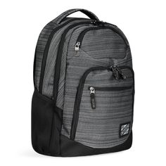 """Sports A Padded Laptop Compartment That Fits Up To A 17 """" Model A Padded Tablet Sleeve A Top Valuables Pocket With Fleece Lining For Added Cushioning/ Padded Tablet Sleeve/ Large Main Compartment/ Dual Side Water Bottle Holders/ Grey Finish Backpack 2017, Best Laptop Backpack, Backpack Brands, Sling Backpack, Popular Backpacks, 17 Inch Laptop, A 17, Other Accessories, Cool Things To Buy"""