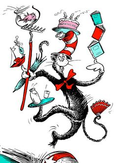 Cat in the Hat from Dr. Seuss