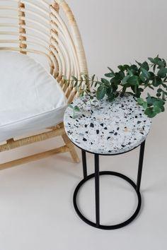 Alto Side Table by Un'common for sale at Pamono Boho Home, Wooden Crates, W 6, Interior S, Design Show, Terrazzo, Contemporary Design, Art Deco, Chair