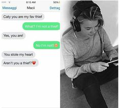 So cute💗 Cute Imagines, Dream Boyfriend, Love U Forever, Pretty Wallpapers, Text Messages, Cute Guys, Flirting, Famous People, Cute Babies