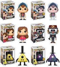 Gravity Falls Preorder Info Reveals Two Pop Vinyl Chases! - Entertainment Earth: Home of Action Figures: Toys, Collectibles . Pop Figurine, Figurines Funko Pop, Monster Falls, Pop Disney, Merida Disney, Disney Princes, Desenhos Gravity Falls, Gavity Falls, Disney Secrets