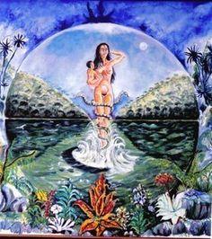 Bachué y la creación del mundo - Mitos - Folclor y Tradiciones - Colombia Info - Colombia.com
