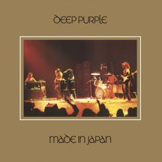 Deep Purple-Made In Japan Made in Japan is a double live album by English rock band Deep Purple, r. Rock Album Covers, Classic Album Covers, Music Album Covers, Black Sabbath, Led Zeppelin, 70s Rock Songs, Rock Music, Music Music, Heavy Metal