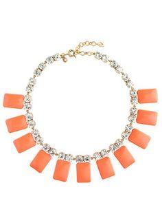 J.Crew Tile necklace