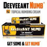 Numbing Cream Anesthetic - Strong Fast Acting DEEVEEANT NUMB® - 1x30g - Lidocaine 5% Topical Skin Numbing Cream - Stop Pain Now - Used Worldwide for Tattoos, Waxing, Laser, Piercings, Derma Roller, Botox, Injections - Guaranteed to Work
