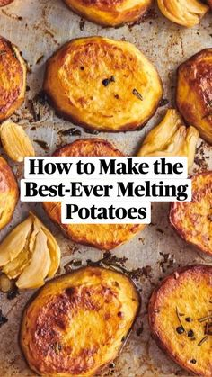 Potato Side Dishes, Vegetable Side Dishes, Vegetable Recipes, Vegetarian Recipes, Cooking Recipes, Potato Recipes, Melting Potatoes Recipe, Betty Crocker, Snacks Für Party