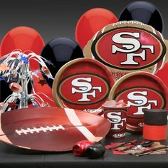 San Francisco 49ers Deluxe Party Kit