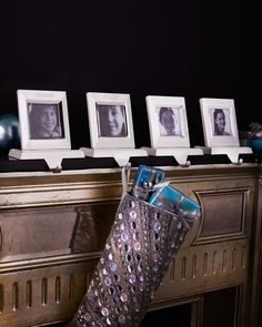 Video.I picture frame stocking hanger just
