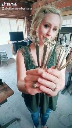 How to Spoon Bracelet, Bracelets, Crafts, Jewelry, Bangles, Jewellery Making, Manualidades, Arm Bracelets, Jewelery