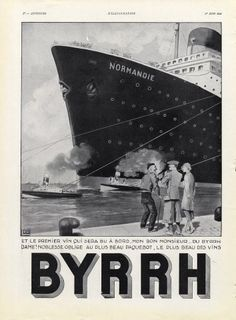 Georges Léonnec  (1881 – 1940). Byrrh, 1935. [Pinned 23-i-2015]