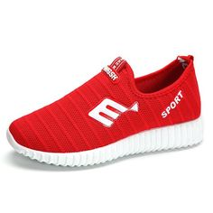 #BangGood - #Eachine1 Breathable Mesh Casual Sport Slip On Outdoor Shoes - AdoreWe.com