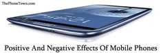positive and negative effects of mobile phone