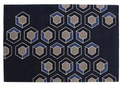 Studio Catoir's Hix Cloud wool rug in Beau Nocturne by Ligne Roset Neutral Carpet, Patterned Carpet, New Carpet, Rugs On Carpet, Carpets, Motifs Textiles, Ligne Roset, Carpet Design, Furniture