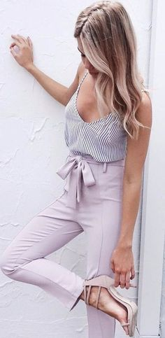 Top Spring And Summer Outfits Women Ideas #summerstyle #summerfashion