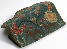 18th Century Wallet with two ponies, Connecticut origin