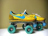 Roller skate!!!  This was what my first skates looked like but red/white.