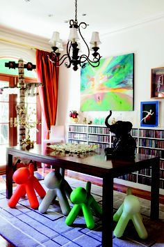 The Advertiser's master of quizzes Marty Smith's colourful home. As seen in the Adelaide* magazine December 2012. Photo: James Knowler. #Adelaide