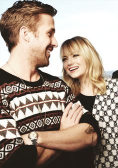 Emma Stone & Ryan Gosling. Pareja perfecta. Sin duda, ¡soy fan!
