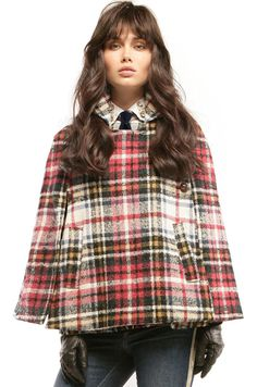Vilagallo. Capa escocesa. Tartan cape winter 2015/16