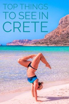 Going to Greece? Hopping around the Greek Islands is a magical adventure. Here are Top Things to Do and See on the Greek Island of Crete.