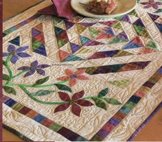 Garden Rhapsody Quilt Pattern Pieced/Applique HT