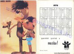 1976 - 1976 0088 - Régi magyar kártyanaptárak