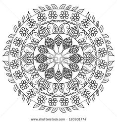 Find Hand Drawn Grey Floral Pattern stock images in HD and millions of other royalty-free stock photos, illustrations and vectors in the Shutterstock collection. Mandala Coloring, Colouring, Coloring Books, Laser Cutter Projects, Glass Craft, Religious Cross, Doodle Inspiration, Adult Coloring Pages, Cross Stitching