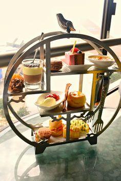 Chocolatemuimui : 香港︰Sky Lounge - 朱古力。樂章 下午茶