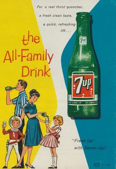 - the All-Family Drink - vintage soda ad