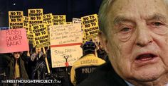 There is Nothing Organic About It -- Anti-Trump Protesters Are Being Bussed in With Pre-printed Signs from Soros -- Ready for Unrest