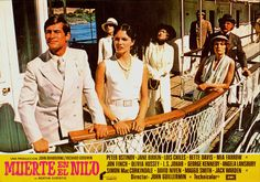 death on the nile images | Death on the Nile, Spanish lobby card. 1978submitted by videorecord