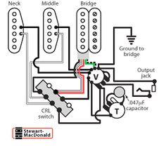 Stewmac Les Paul Wiring Diagram. Les Paul Outline, Les