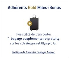 Aegean and Olympic baggage allowance policy