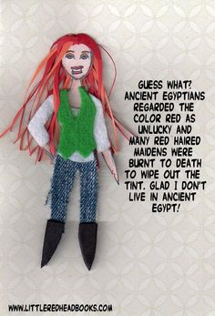 Redhead Fact redheads in egypt