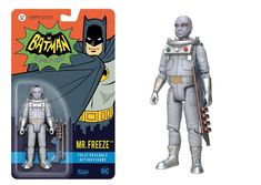Funko Action Figure: DC Heroes - Mr. Freeze Toy Figure – Galactic Toys & Collectibles