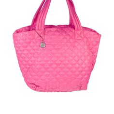 Big Buddha Puffy Quilted Tote from LittleBlackBag.com
