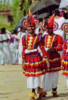 Traditional Sri Lankan dancers in Colombo, Sri Lanka - Photo by Tim Graham