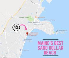 Long Sands Beach: The Amazing Sand Dollar Beach Every Mainer Will Want To Visit East Coast Travel, East Coast Road Trip, Maine Road Trip, Road Trips, Cape Neddick, Maine Beaches, Surf Lodge, York Beach, New England Travel