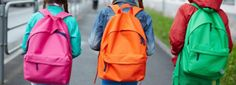 Choosing the right school backpack