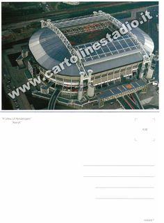 € 1,20 - code : NED-017 - AMSTERDAM ArenA - stadium postcard cartolina stadio carte stade estadio tarjeta postal Under Constraction