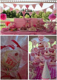 This party is gorgeous ... Pinkalicious party ideas :)