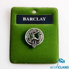 Clan Crest Pewter Ba