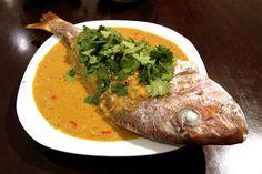 Massaman curry fish