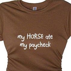 Girls Horse Lovers Tee Shirt Southern TShirt by FlirtyDivaTees, $24.95
