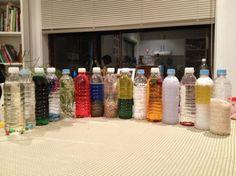 много идей с бутылками
