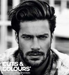 Tendance Coupe & Coiffure Femme Description Nowadays mens want to try different hair cuts and styles. And there are too many different men hairstyles pictures in the galery of 25 Medium Mens Hairstyles. Mens Medium Length Hairstyles, Cool Hairstyles, Hairstyle Ideas, Hairstyles Pictures, Mens Hairstyles 2014, Wedding Hairstyles, Latest Hairstyles, Makeup Hairstyle, Fringe Hairstyles