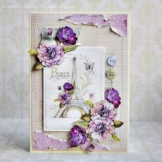 "Loving everything about this! Prior pin states ""Just gorgeous, I really like  the pieces of paper added to the corners."""