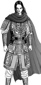"""Ei Sei from """"Kingdom"""" manga and anime"""