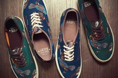 Vans California Birds Authentic CA Pack Fall/Winter 2012